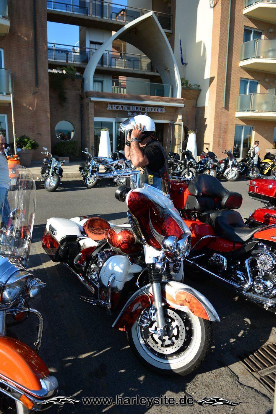 Harley 110th Rom Ostia 232