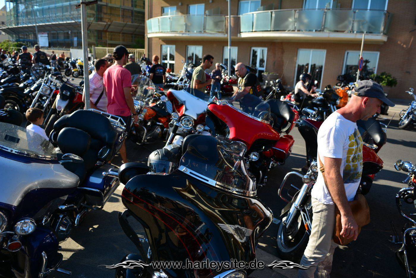Harley 110th Rom Ostia 233