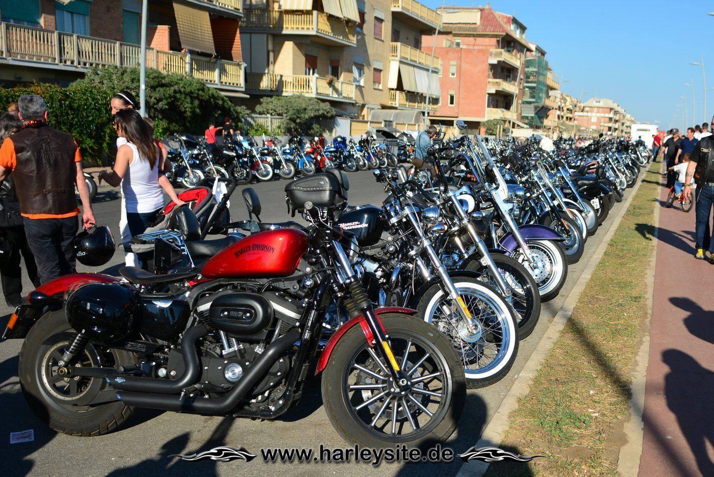 Harley 110th Rom Ostia 238