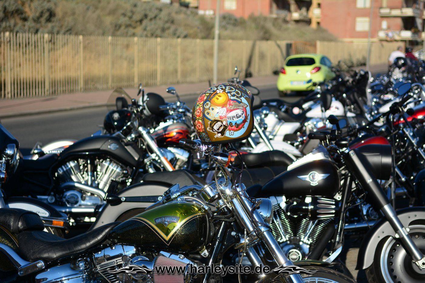 Harley 110th Rom Ostia 246