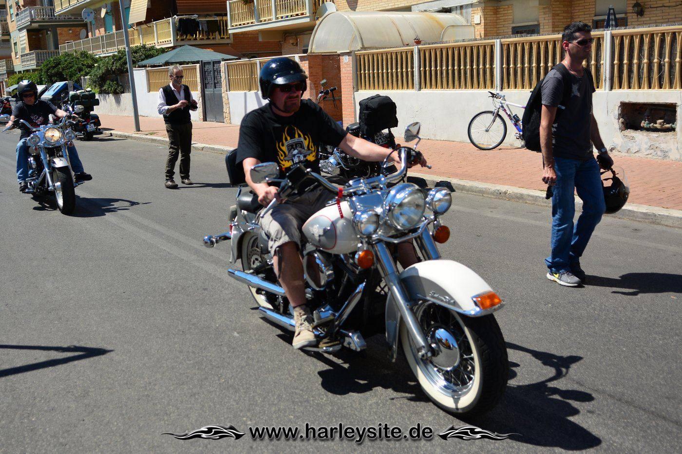 Harley 110th Rom Ostia 26