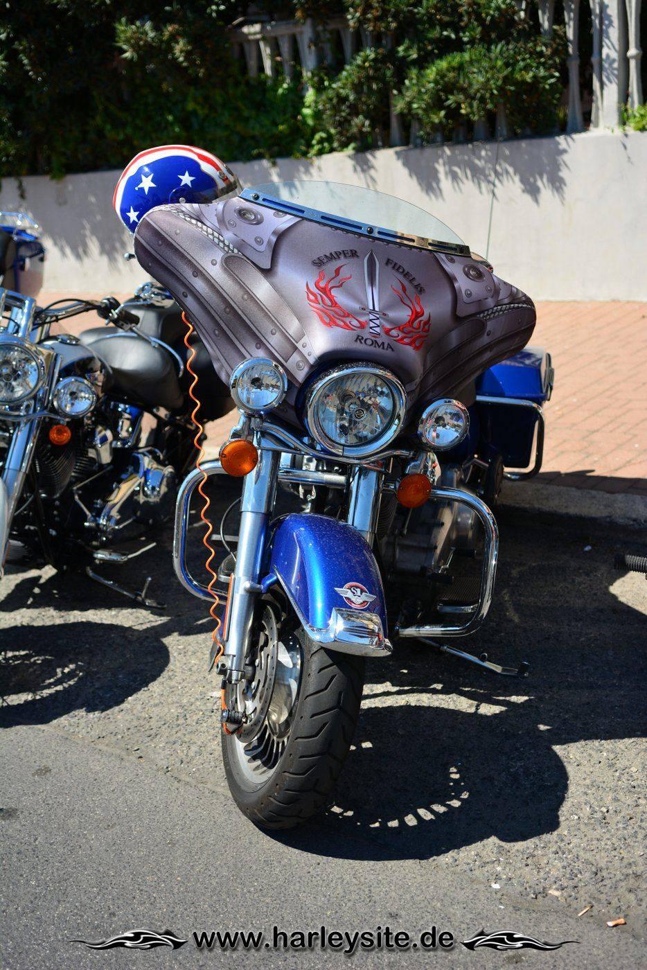 Harley 110th Rom Ostia 28