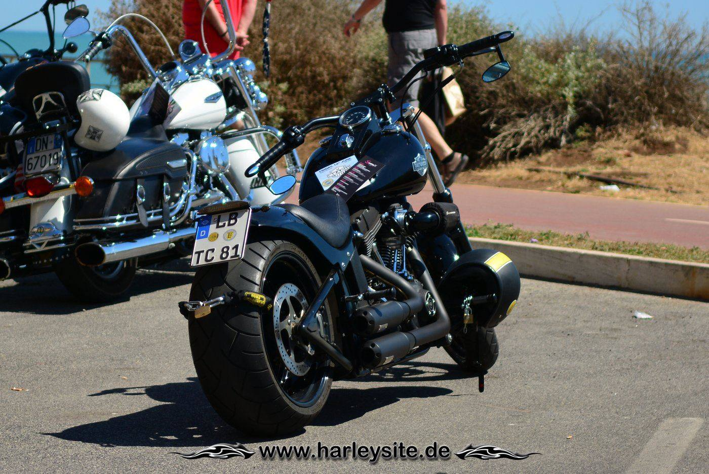 Harley 110th Rom Ostia 30