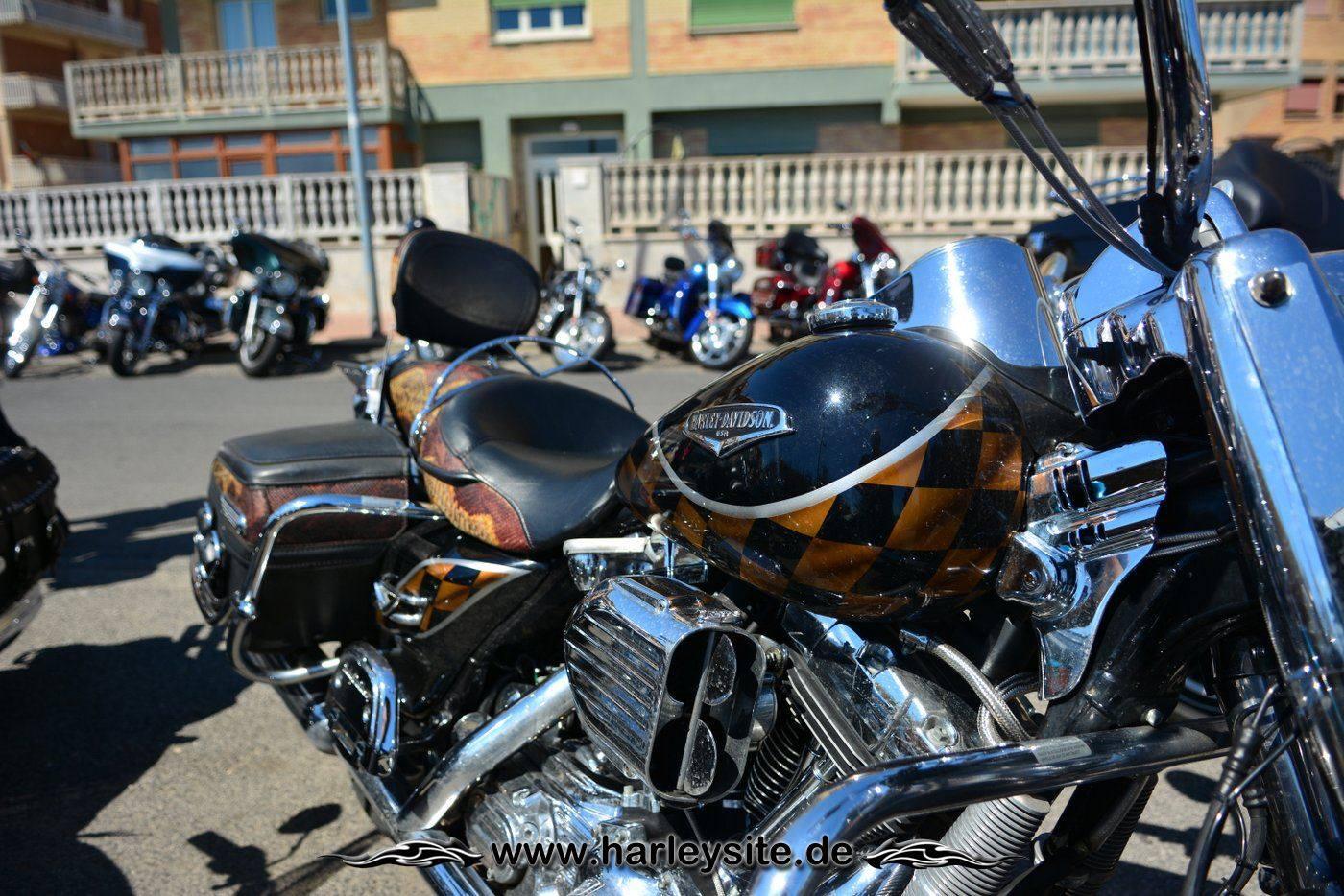 Harley 110th Rom Ostia 35