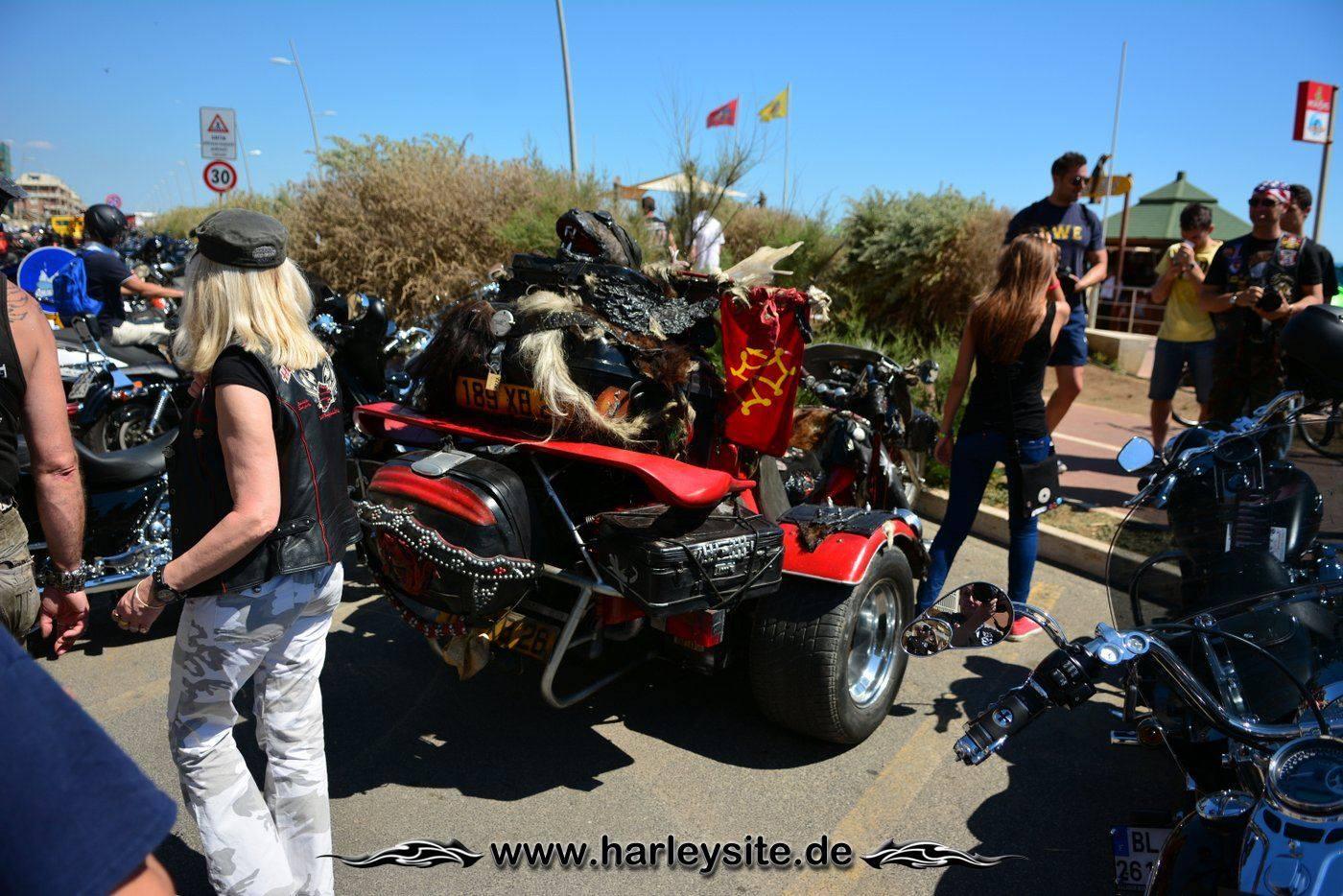 Harley 110th Rom Ostia 42