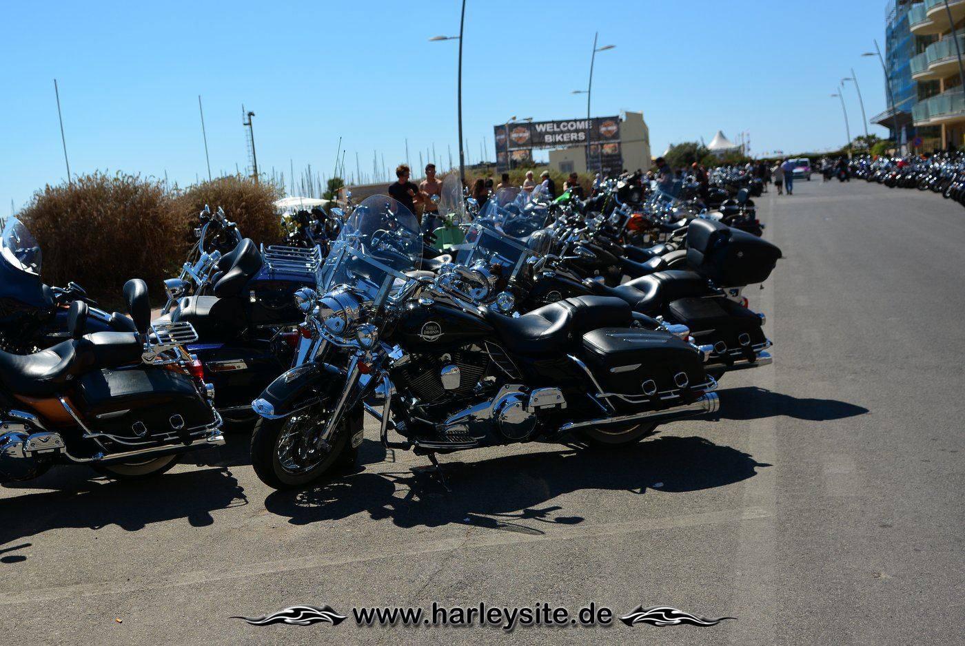 Harley 110th Rom Ostia 43