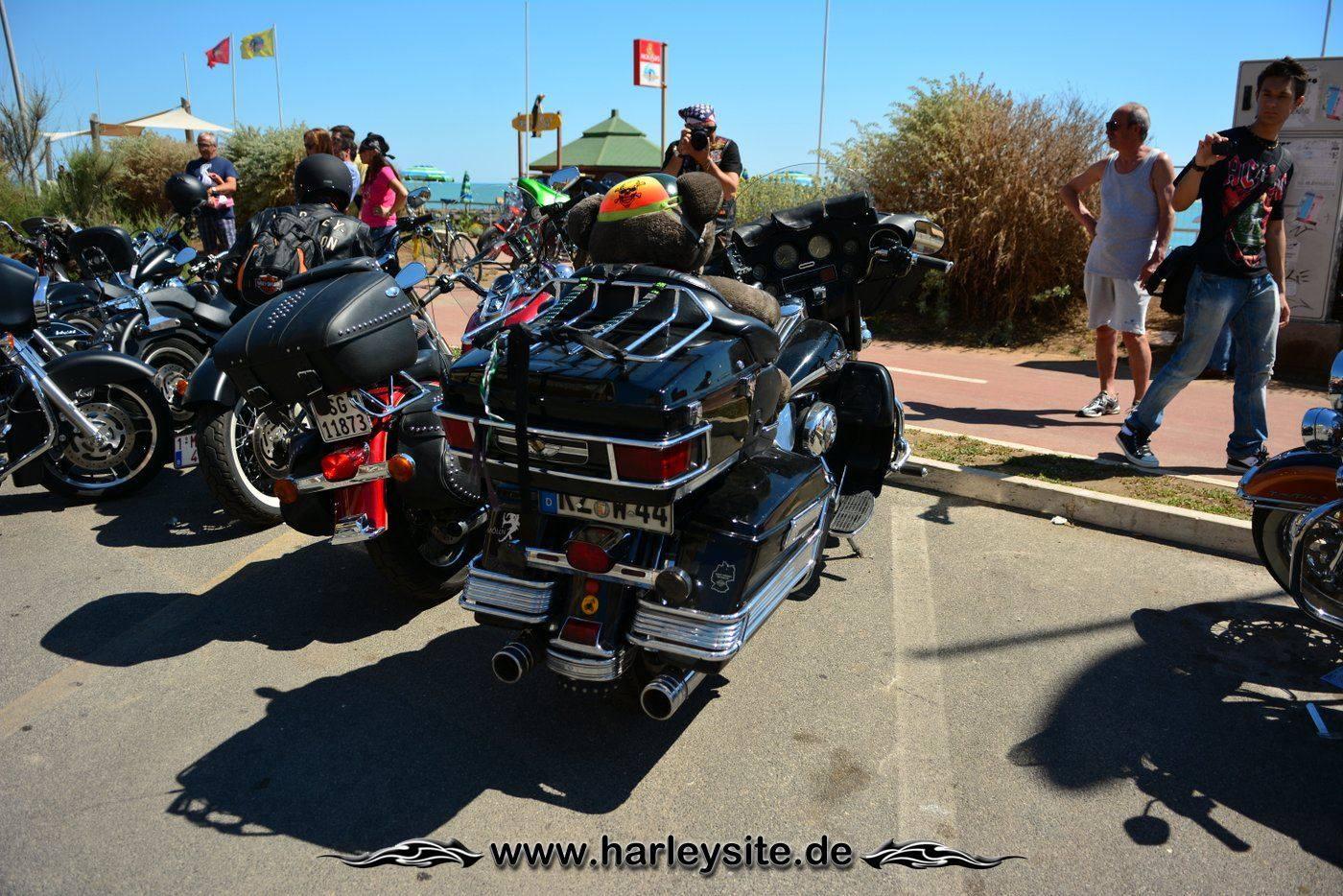 Harley 110th Rom Ostia 44