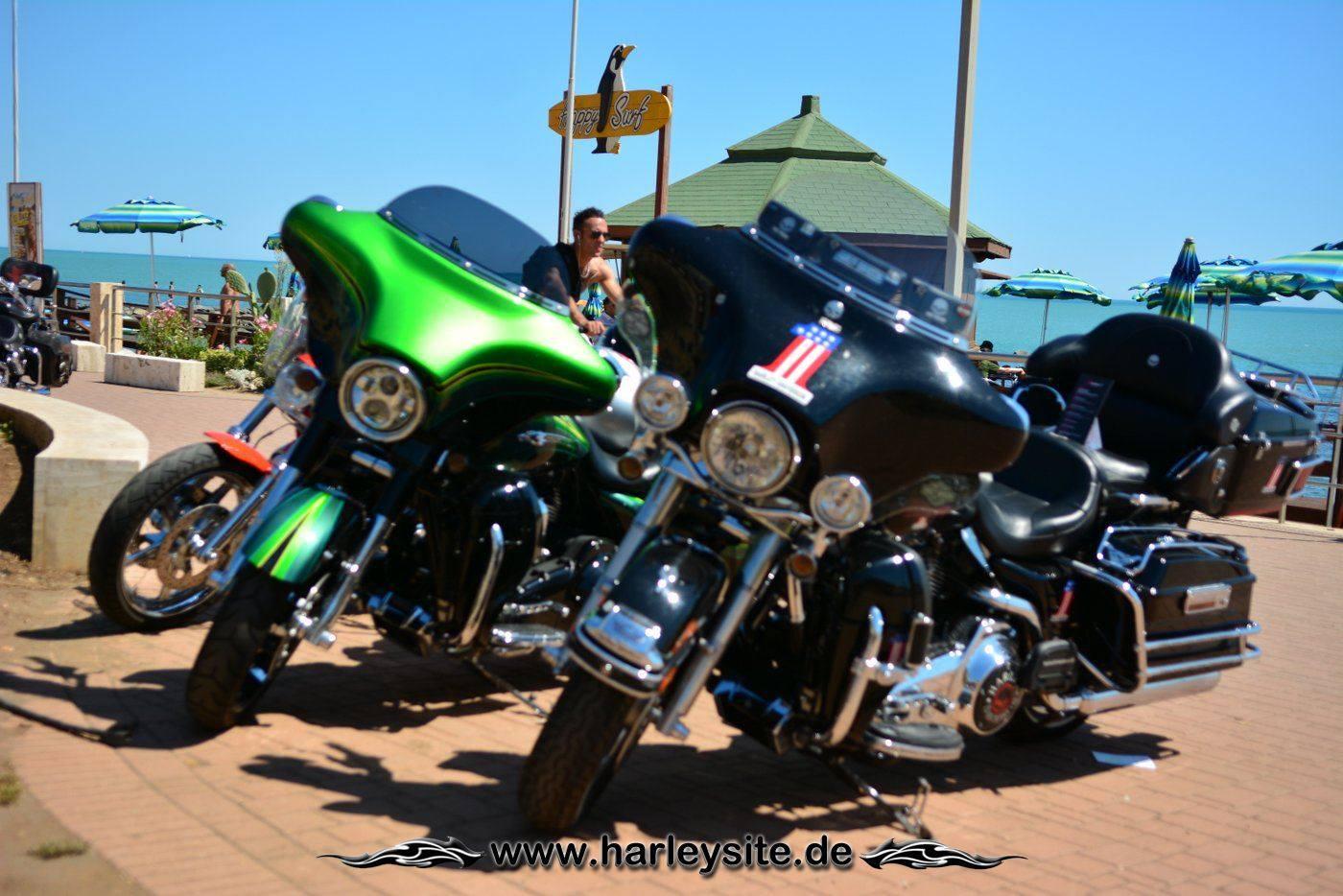 Harley 110th Rom Ostia 45