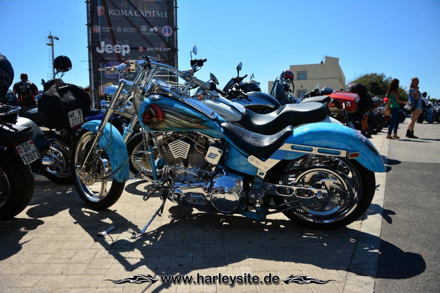 Harley 110th Rom Ostia 53
