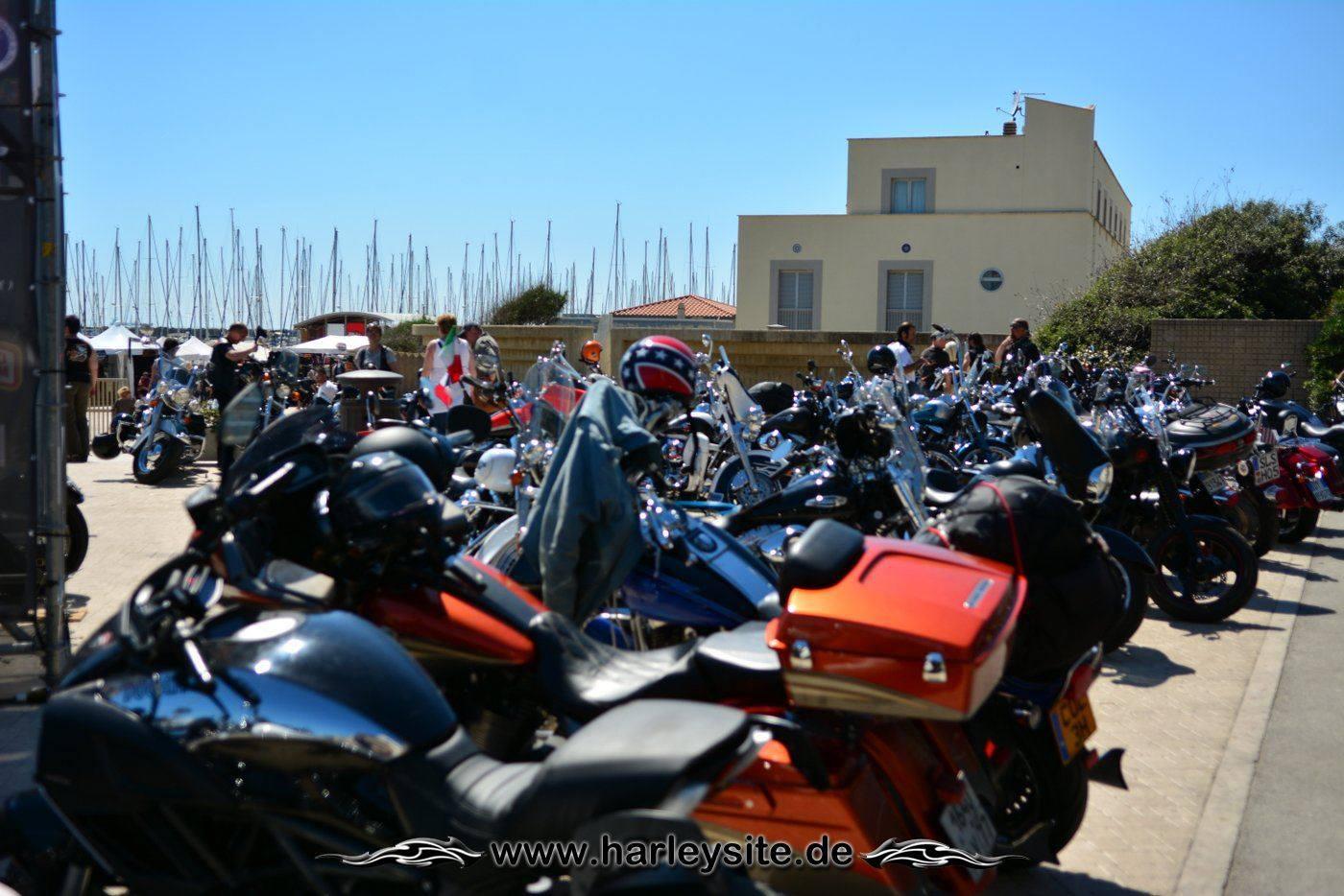 Harley 110th Rom Ostia 56