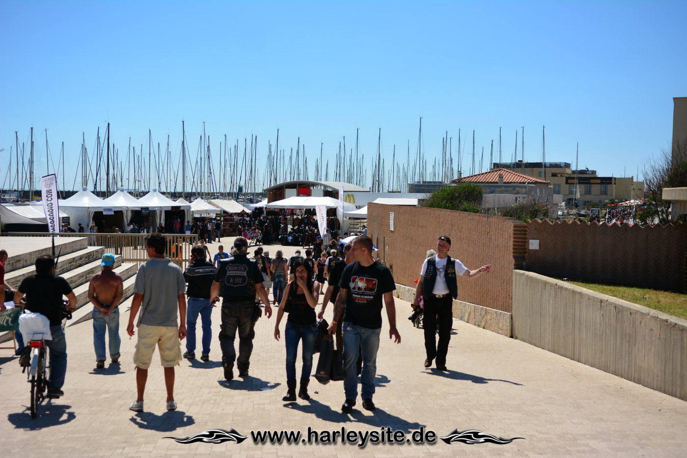 Harley 110th Rom Ostia 58