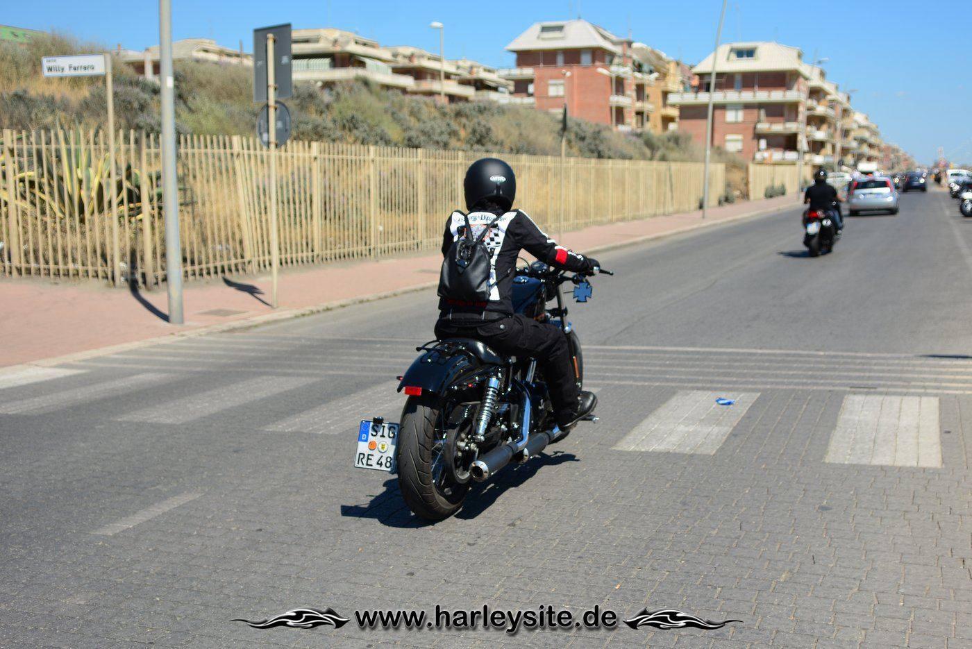 Harley 110th Rom Ostia 6