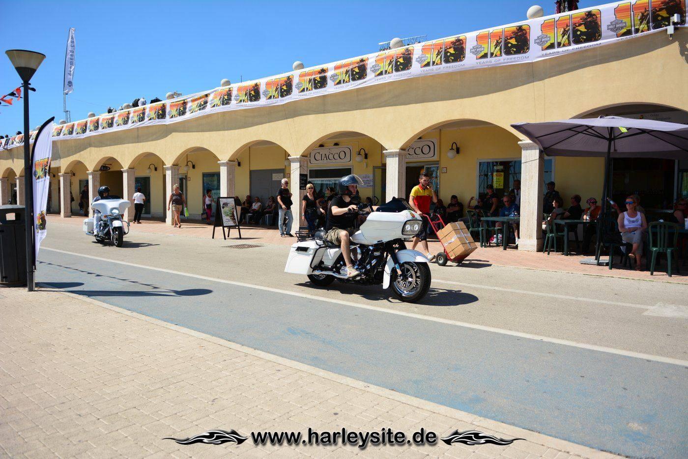 Harley 110th Rom Ostia 61