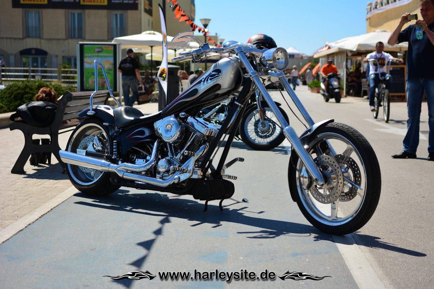 Harley 110th Rom Ostia 67