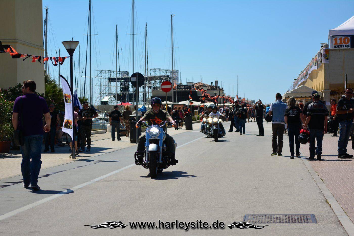 Harley 110th Rom Ostia 71