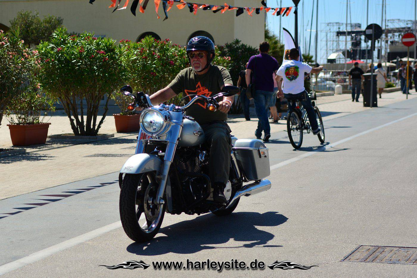Harley 110th Rom Ostia 72