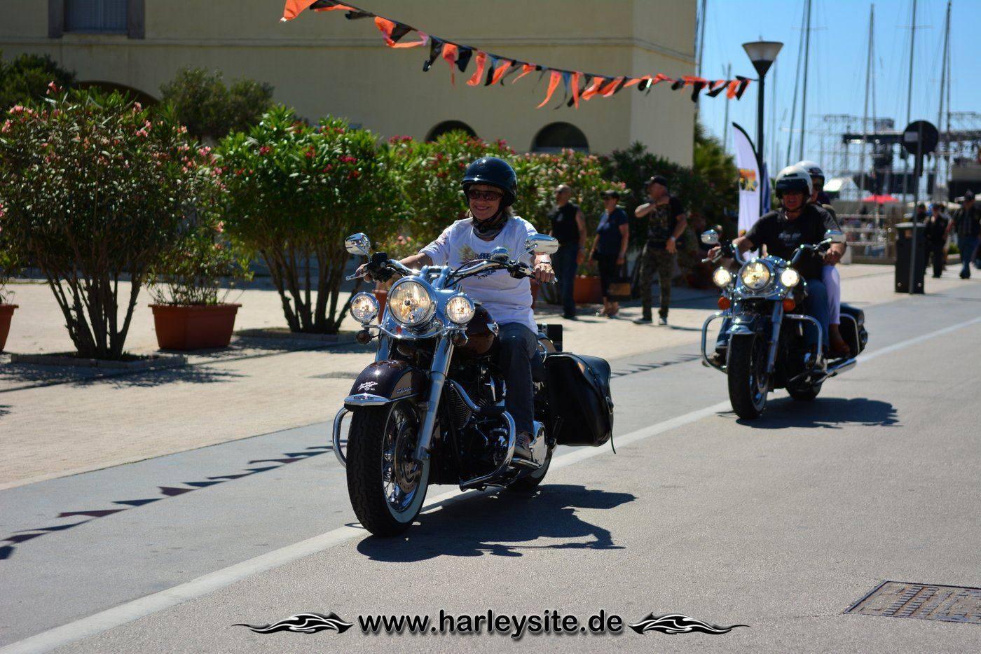 Harley 110th Rom Ostia 74