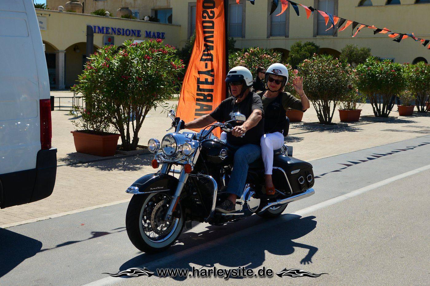 Harley 110th Rom Ostia 75