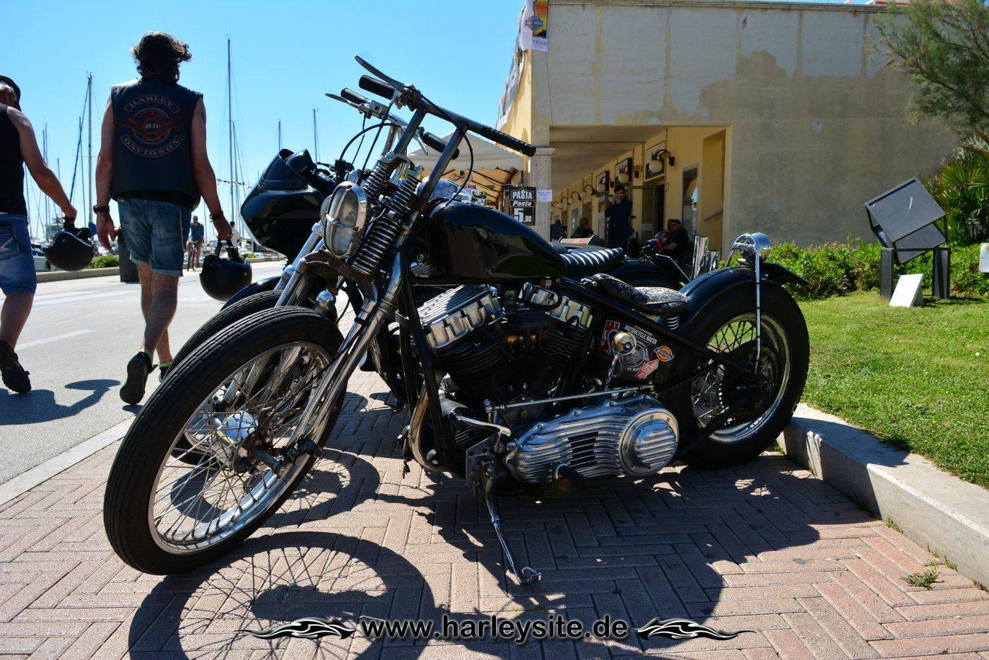 Harley 110th Rom Ostia 79