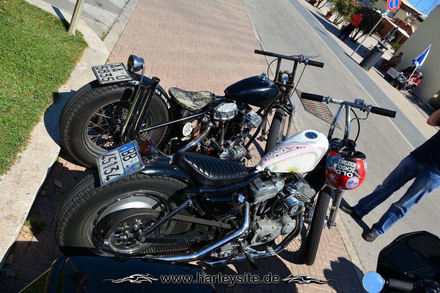 Harley 110th Rom Ostia 81