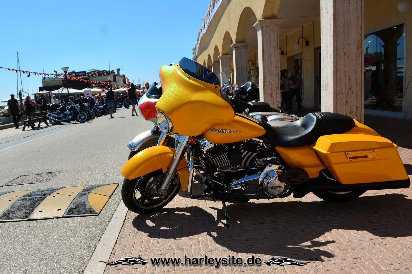 Harley 110th Rom Ostia 82