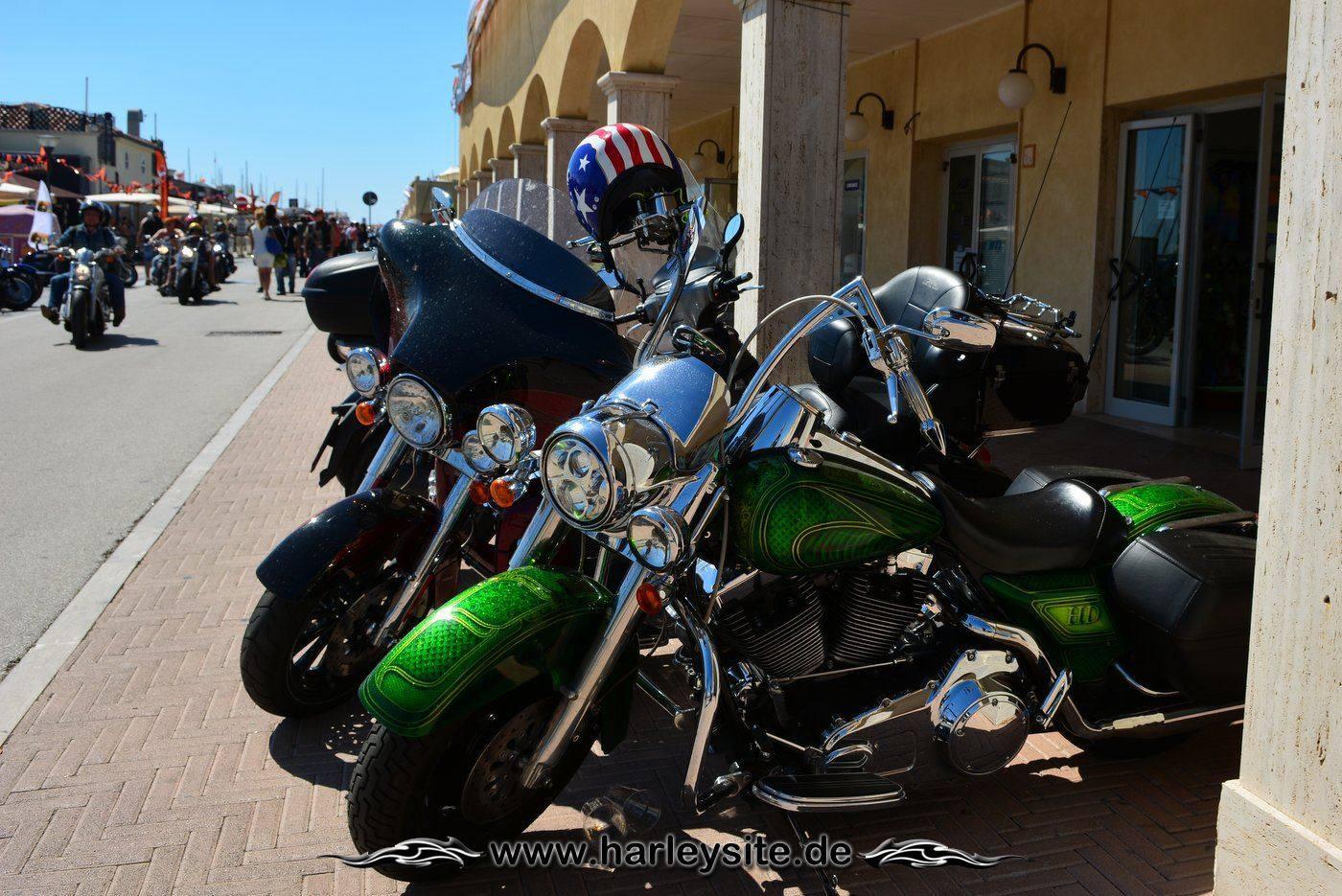 Harley 110th Rom Ostia 83
