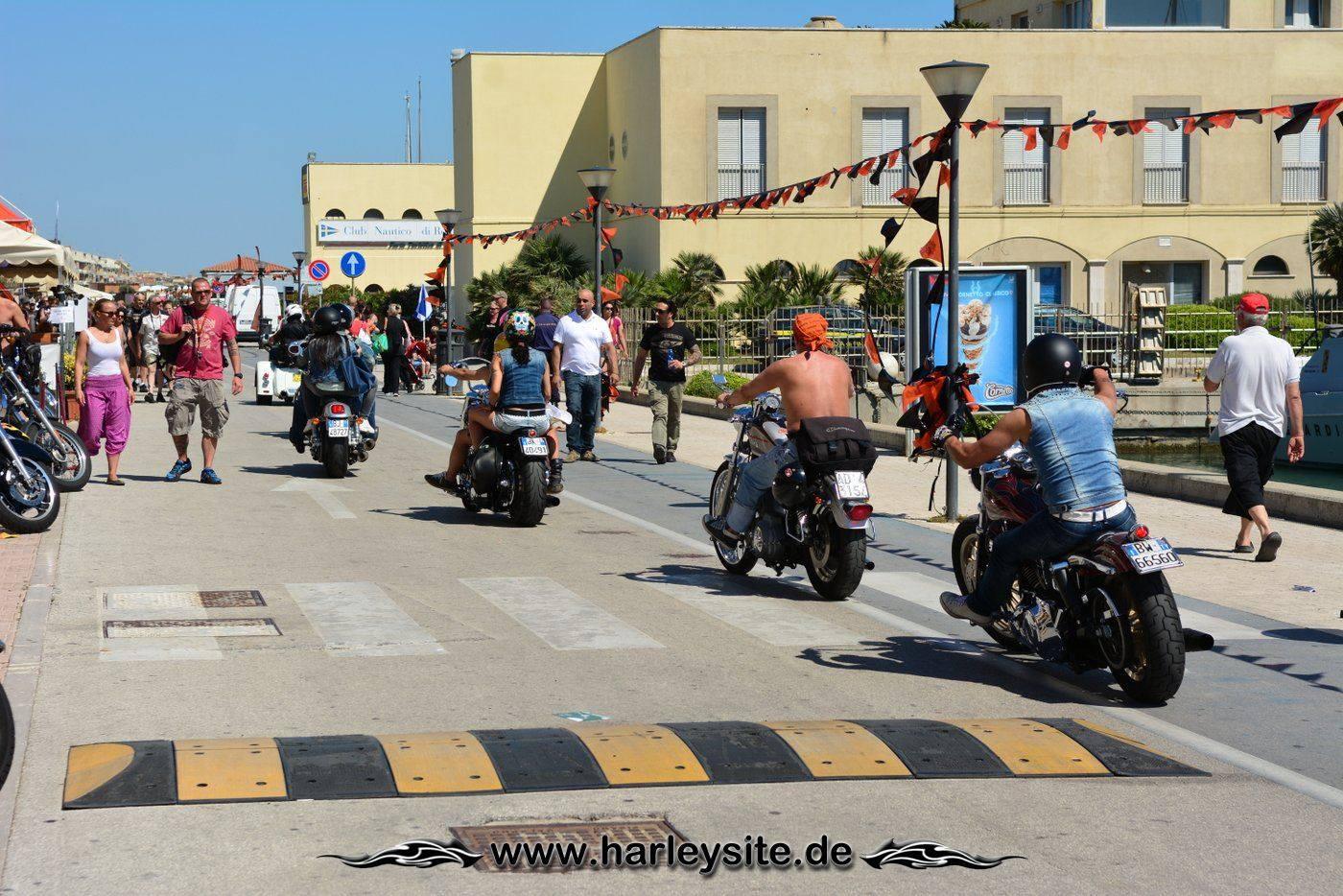 Harley 110th Rom Ostia 86