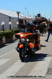 Harley 110th Rom Ostia 90