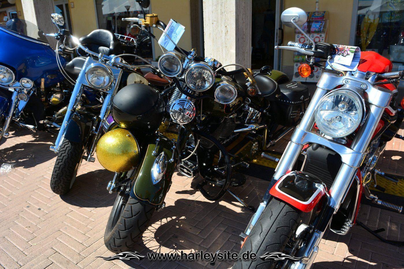 Harley 110th Rom Ostia 91