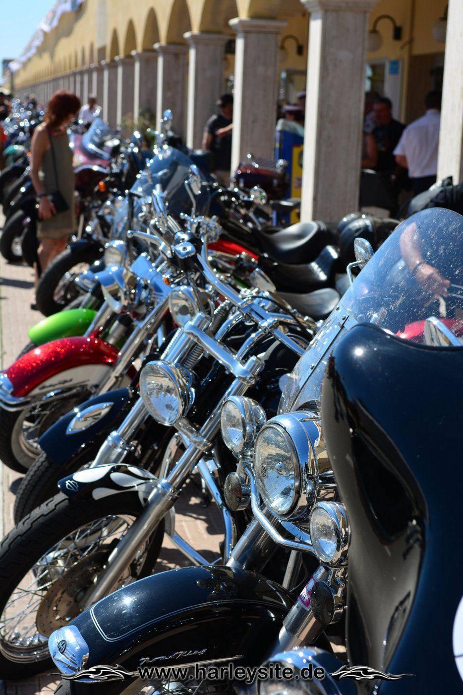Harley 110th Rom Ostia 95