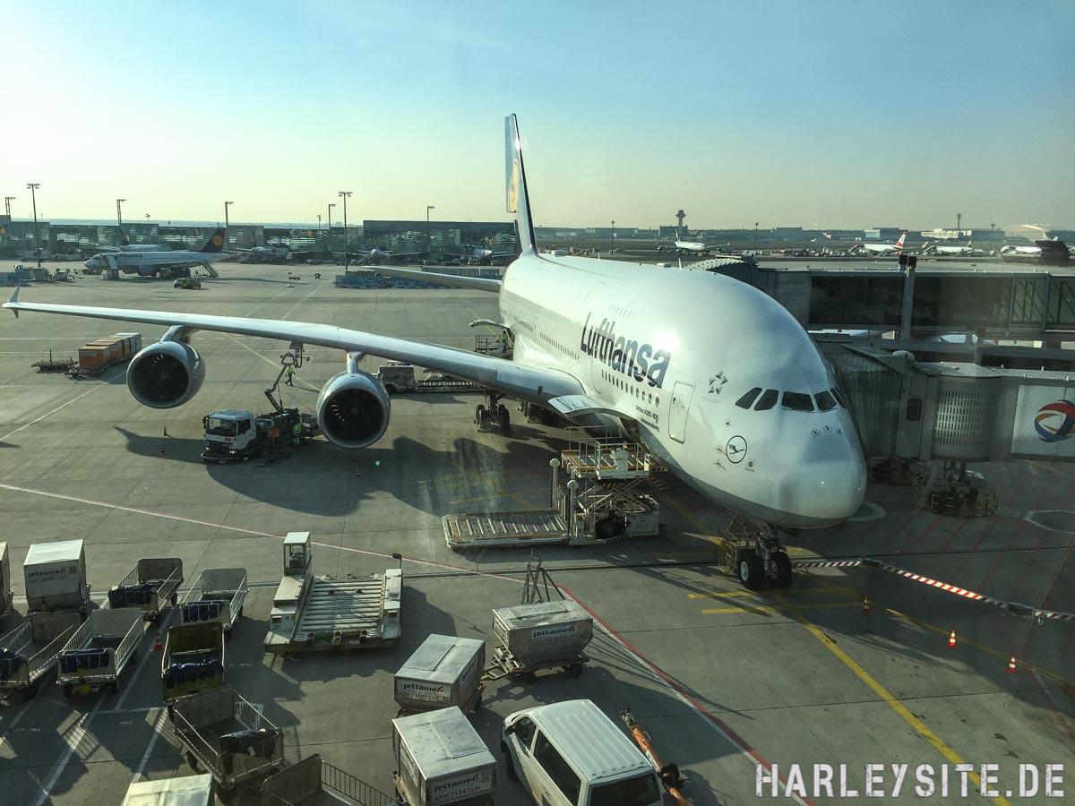 Mit dem A380 von Frankfurt nach Los Angeles