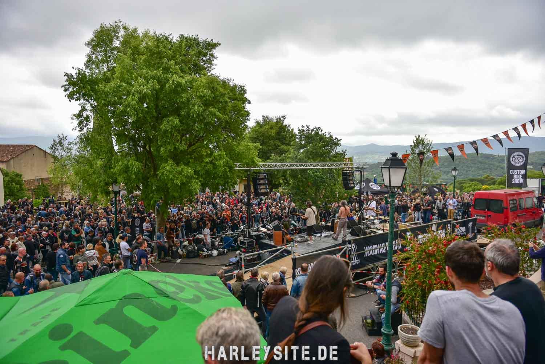 Die Bike-Show vom Euro Festival in Grimaud