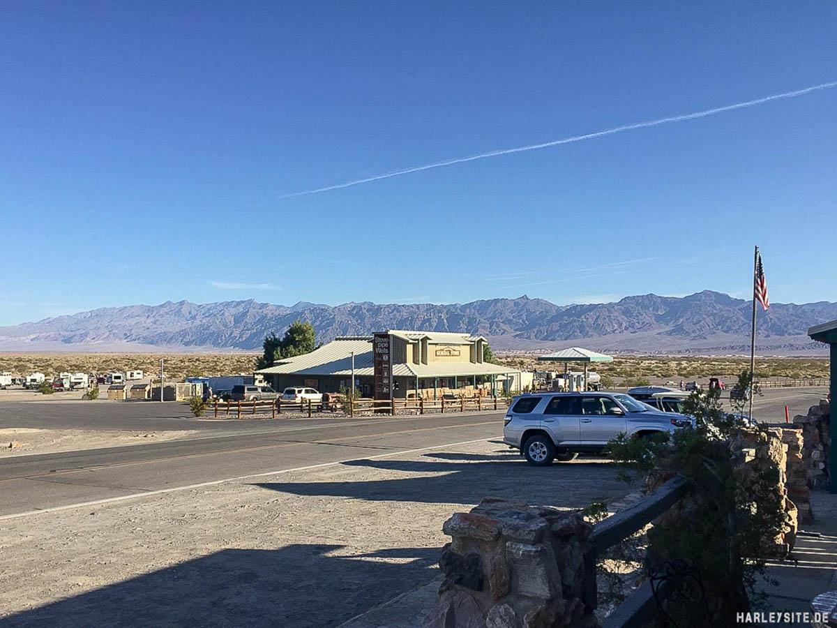 Harley Tour In Die Mojave Wüste