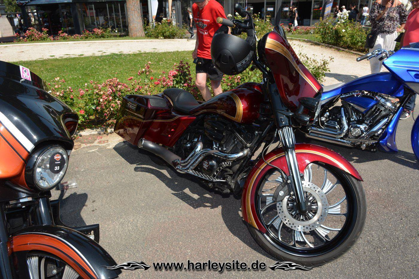 Harley Rom 110th 101