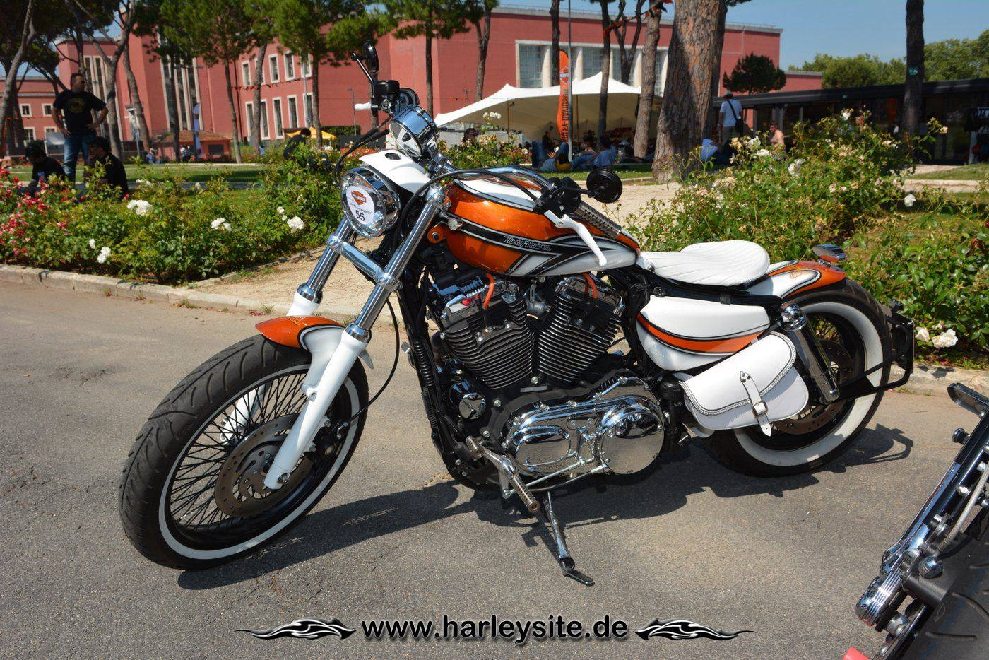Harley Rom 110th 104