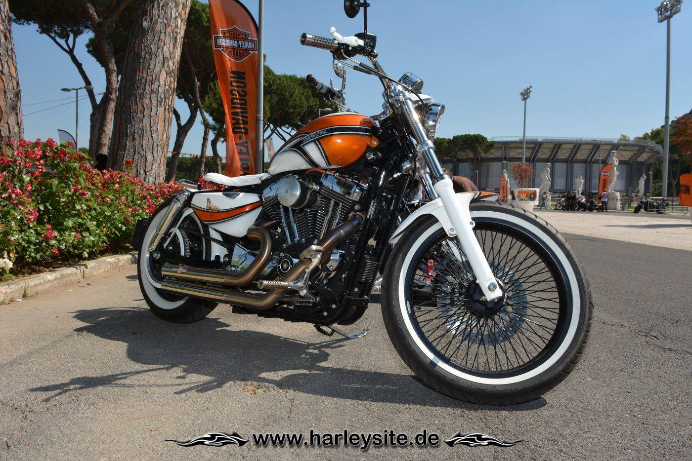 Harley Rom 110th 105