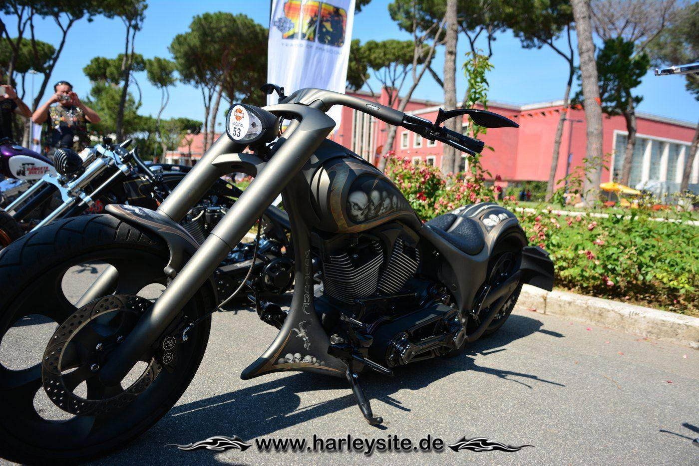 Harley Rom 110th 109