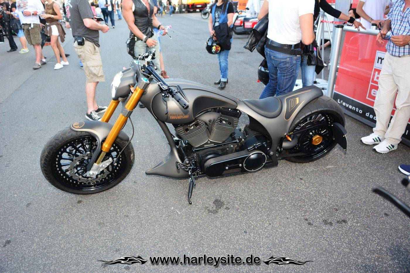 Harley Rom 110th 174