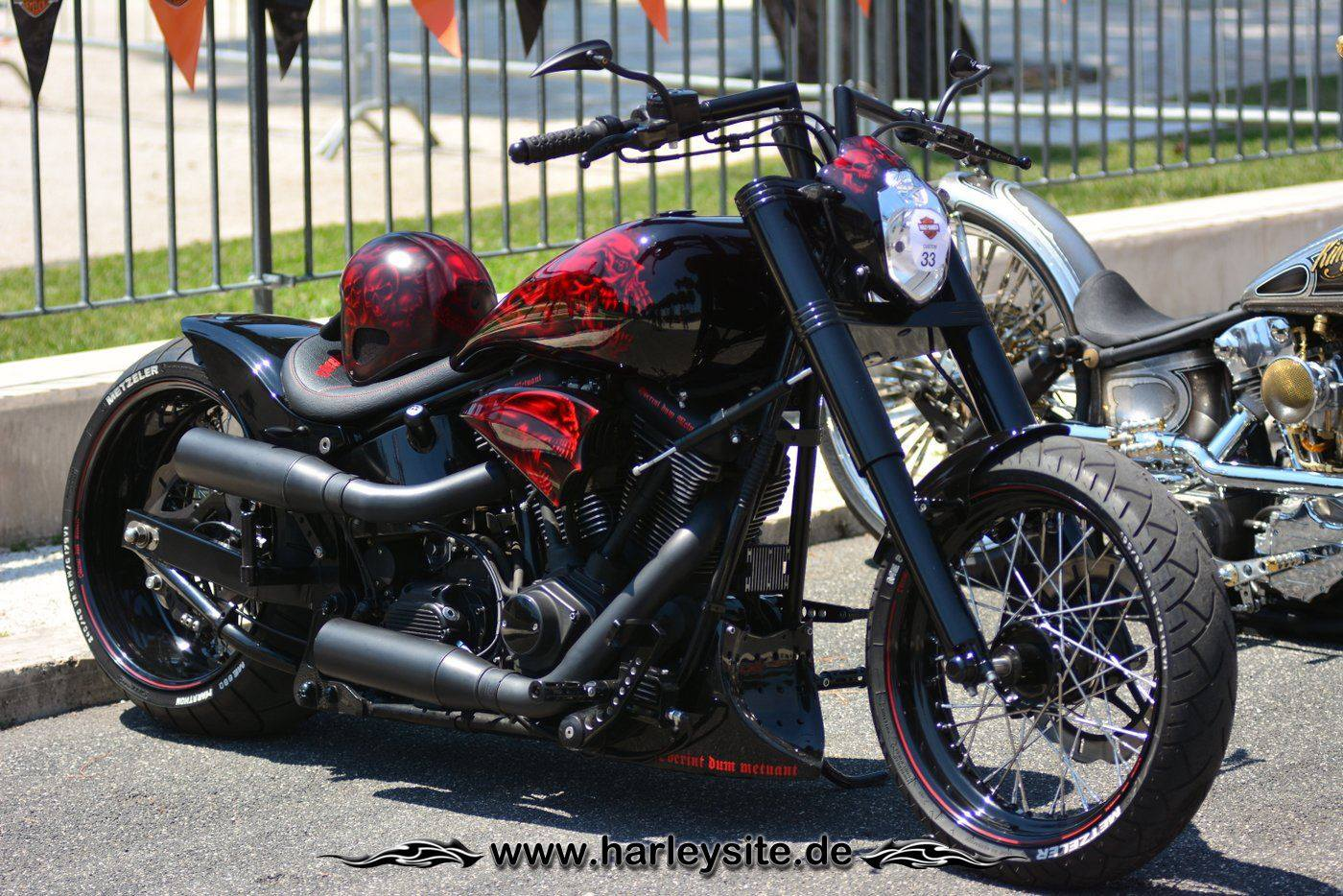 Harley Rom 110th 45