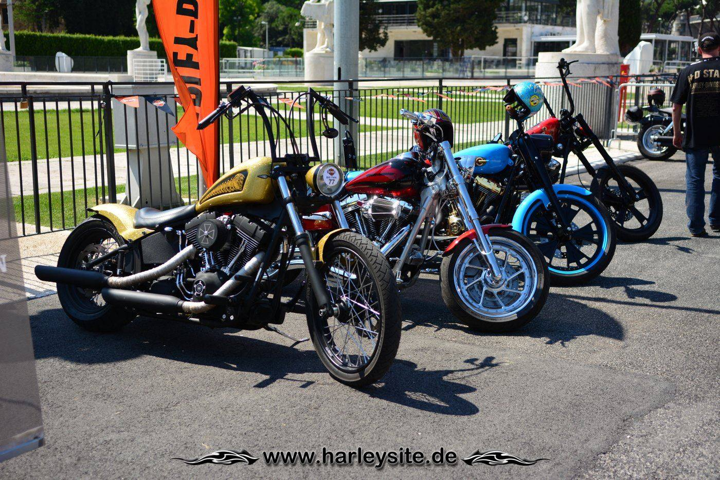 Harley Rom 110th 86