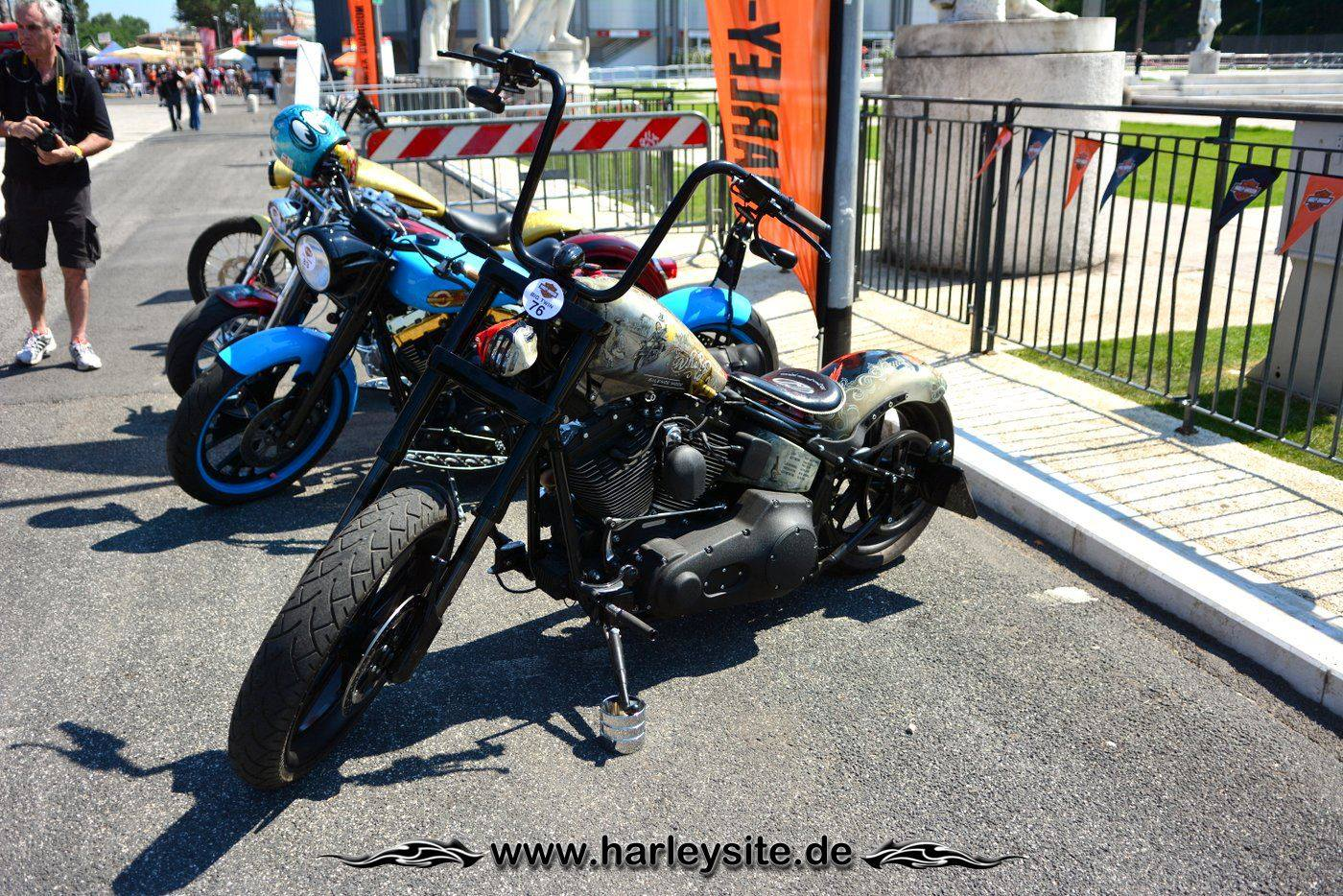 Harley Rom 110th 92