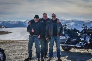 Norkap Tour auf der Harley