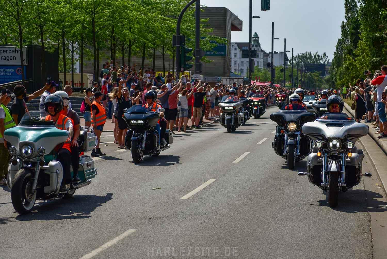 Hamburg Harley Days 2019 Sonntag