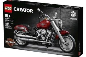 Verpackung Harley-Davidson Fat Boy Lego Bausatz