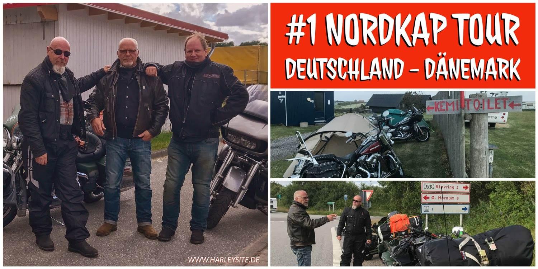 Zeigt das Cover vom Teil 1 der Nordkap Tour