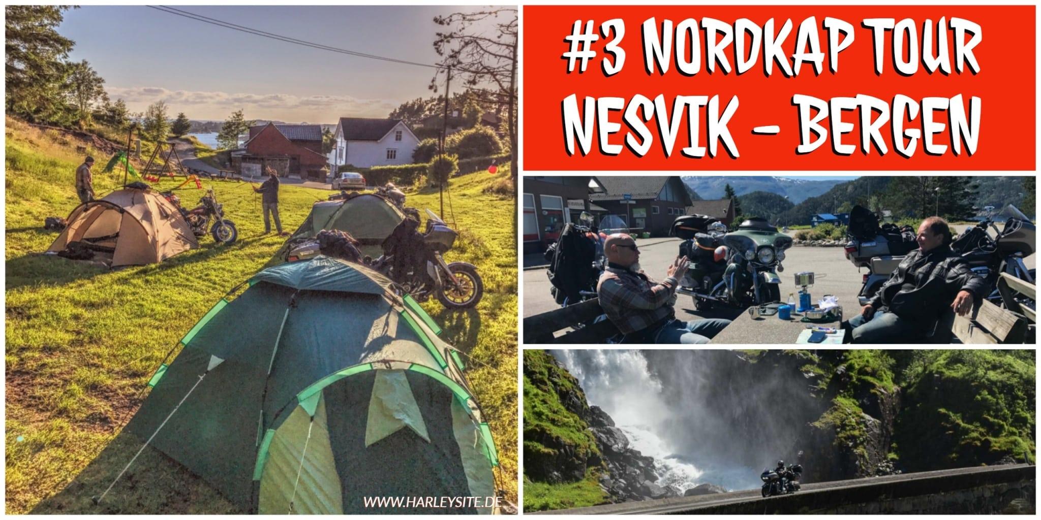 Teil 3 Nordkap Tour – Von Nesvik nach Bergen in Norwegen
