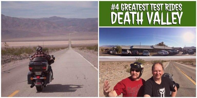 Mit der Harley Davidson ins Death Valley