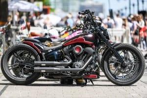 Custombike auf den Hamburg Harley Days