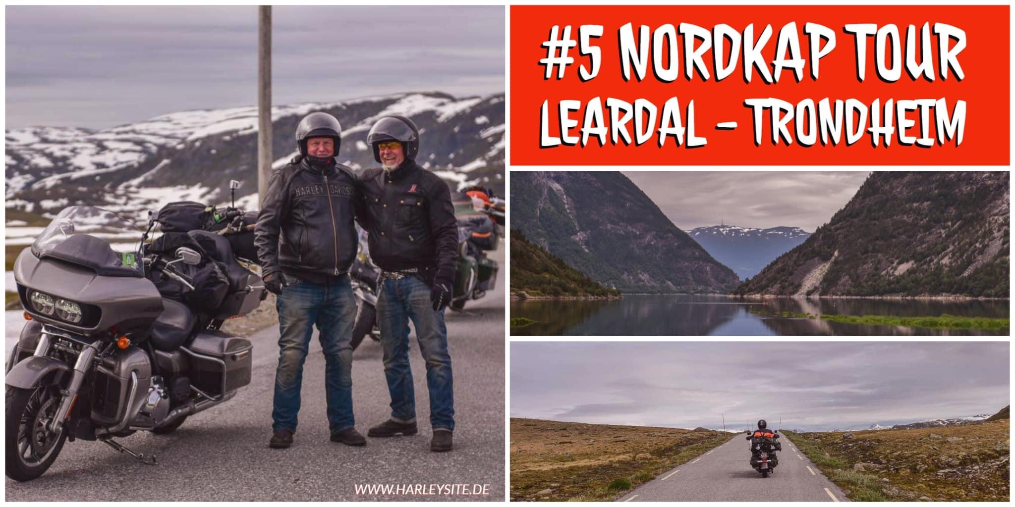 Teil 5 Von Leardal über Berdalsfjellet nach Trondheim