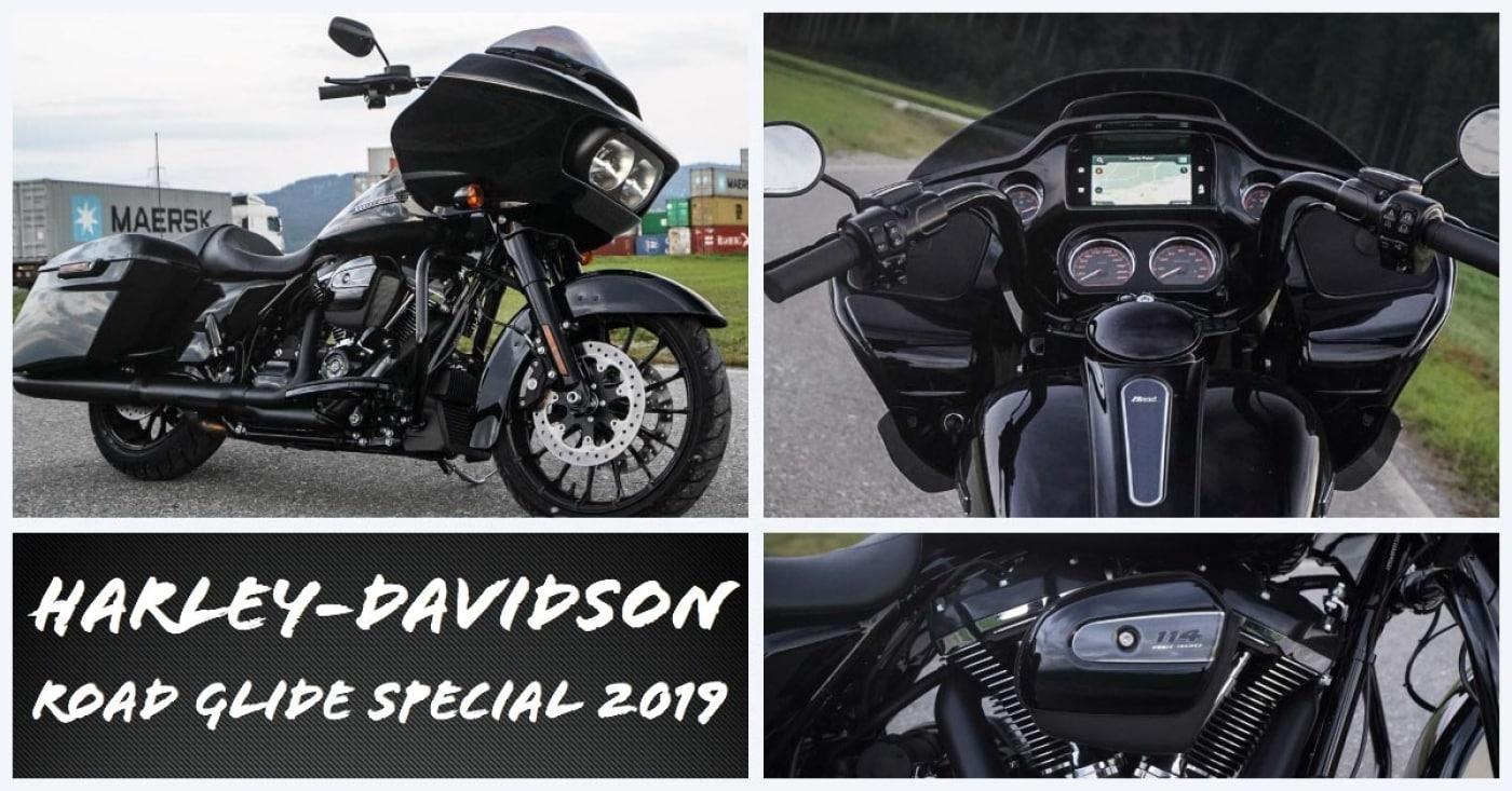 Die neue Harley-Davidson Road Glide Special 2019